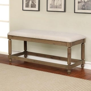 Claire Washed Finish Bench