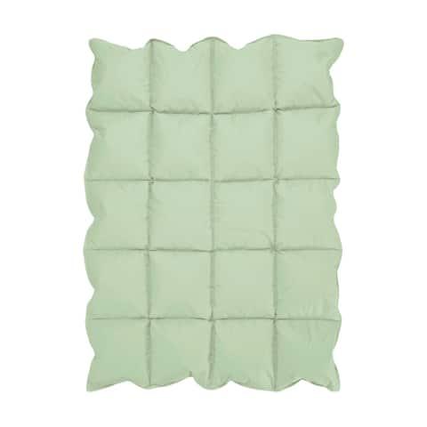 Sweet Jojo Designs Mint Baby Crib Down Alternative Comforter Blanket