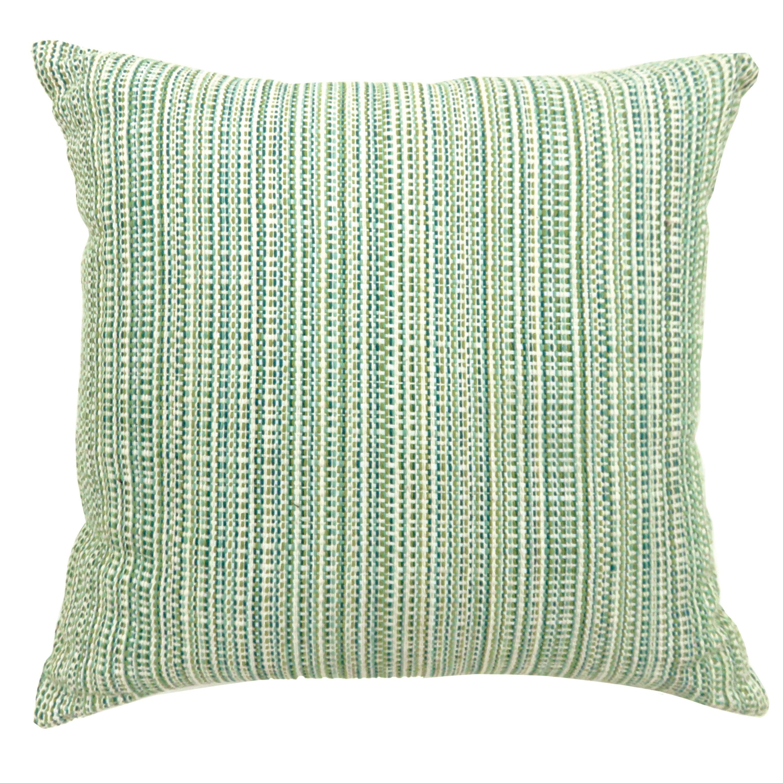 Furniture of America Jenoris Textured Green Throw Pillows (Set of 2) (Small - 18 x 18)