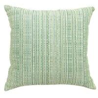 Furniture of America Jenoris Textured Green Throw Pillows (Set of 2)