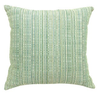 Furniture of America Jenoris Textured Green Throw Pillows (Set of 2)