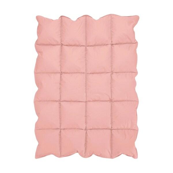 Sweet Jojo Designs Coral Baby Crib Down Alternative Comforter Blanket