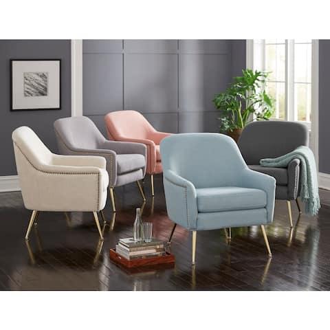 Lifestorey Vita Mid-century Upholstered Accent Chair