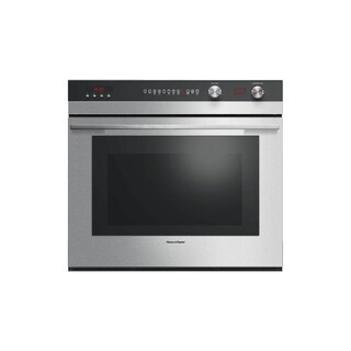 Fisher & Paykel OB30STEPX3 30 Inch Single Electric Wall Oven with 4.1 cu.ft Capacity, 11 Functions, True Convection System