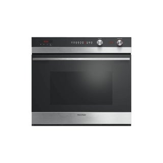 Fisher & Paykel OB30SCEPX3 30 Inch Single Electric Wall Oven with AeroTech Convection, Self Clean, Catalytic Smoke Eliminator
