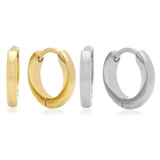 Piatella Ladies Set of 2 Stainless Steel Earrings