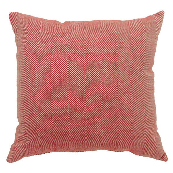 Furniture of America Geto Contemporary Red Throw Pillows Set of 2
