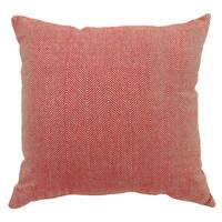 Furniture of America Jarlberg Red Houndstooth Throw Pillows (Set of 2)