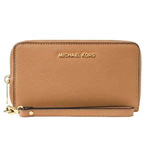 Michael Kors Jet Set Large Acorn Multi-function Phone Case Wallet