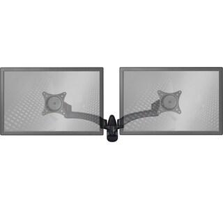 Wall Mount Monitor Arm: Standard Dual Screen Black
