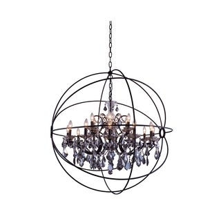 Royce Edge 18 light Dark Bronze Chandelier