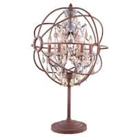 Royce Edge 6-light Rustic Intent Table Lamp