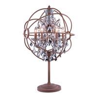 Royce Edge 6 light Rustic Intent Table Lamp