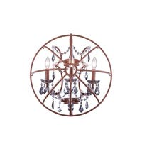 Royce Edge 3 light Rustic Intent Wall Sconce