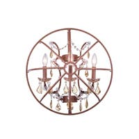 Royce Edge 3-Light Rustic Intent Wall Sconce