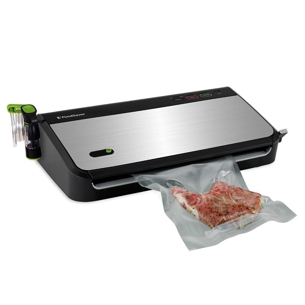 FoodSaver Fm2435-ecr Vacuum Sealing System With Bonus Han...