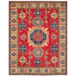 eCarpetGallery  Hand-knotted Finest Gazni Red Wool Rug (8'0 x 10'4)