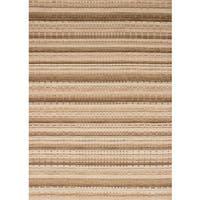 eCarpetGallery  Hand-knotted Luribaft Gabbeh Riz Beige Wool Rug (5'3 x 7'6)