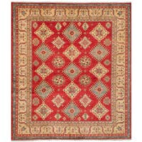 eCarpetGallery  Hand-knotted Finest Gazni Red Wool Rug (8'5 x 9'9)