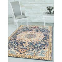 Westfield Home Versailles Amberley Blue Accent Rug - 1'10 x 3'1