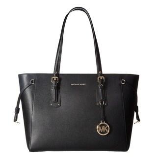 Link to Michael Kors Voyager Medium Black Top Zip Tote Bag Similar Items in Shop By Style