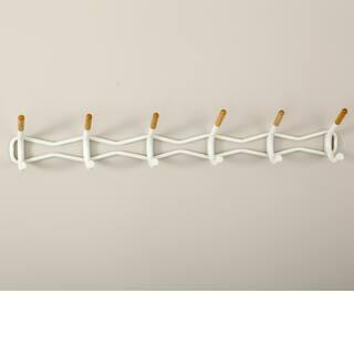 Safco Family Coat Wall Rack, 6 Hook