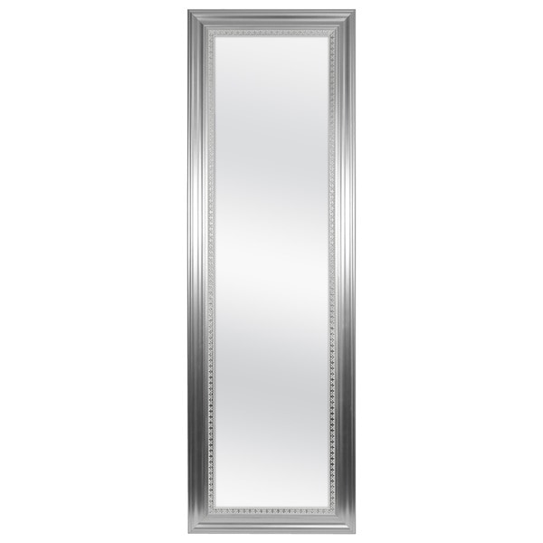 Shop Mcs Silver Framed Over The Door Mirror With Silver