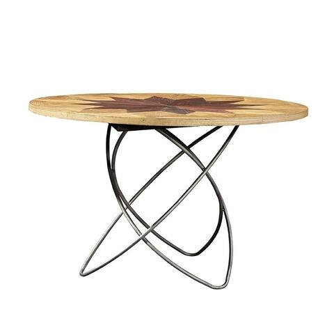 Copernicus Dining Table - Brown