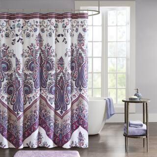 Intelligent Design Layne Printed Shower Curtain 2 Color Option