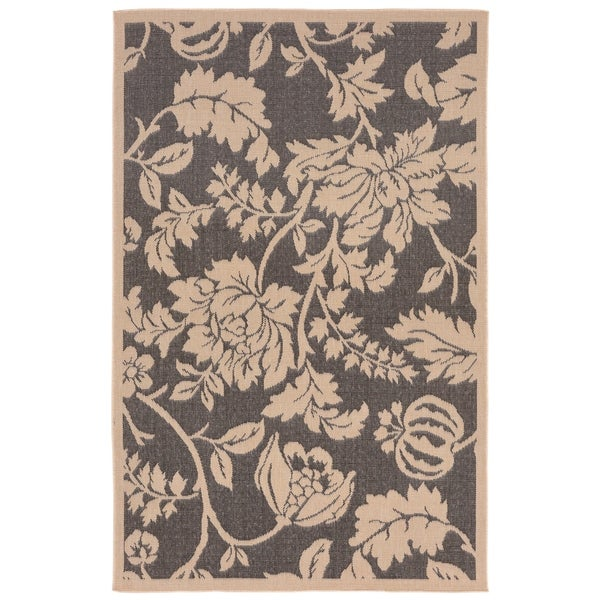 Shop Botanical Outdoor Rug 7 10 X 9 10 On Sale Free Shipping