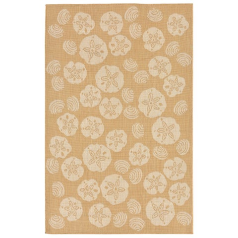 Liora Manne Sea Gems Outdoor Rug (4'10 x 7'6) - 4'10 x 7'6