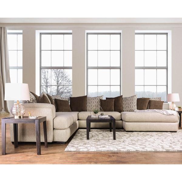 Online Furniture Free Shipping: Shop Furniture Of America Benino Microfiber Chenille