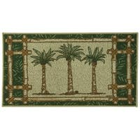 Classic Berber Oasis Kitchen rug by Bacova - 1'10 x 3'4