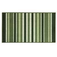 Classic Berber Kitchen Stripe kitchen rug by Bacova - 1'10 x 3'4