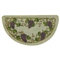Classic Berber Grapevine Kitchen rug by Bacova - 1'6 x 2'6