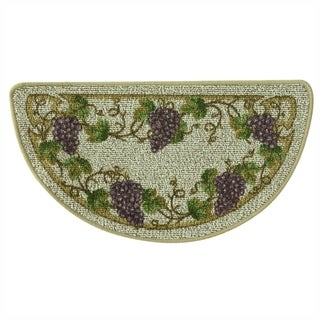 Classic Berber Grapevine Kitchen rug by Bacova - 1'6 x 2'6