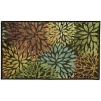 Fleur cut Nylon tufted accent rug by Bacova - 3'4 x 5'