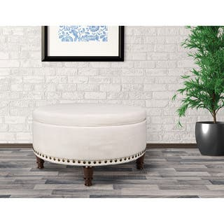 Buy Round Ottomans Amp Storage Ottomans Online At Overstock