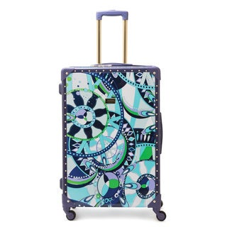 Macbeth Sailing Serafina Trunk 28-Inch Rolling Upright Suitcase