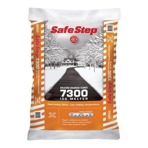 Safe Step Calcium Chloride Ice Melt -25 deg. F 50 lb. Bagged