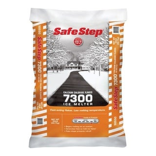 Safe Step Calcium Chloride Ice Melt -25 deg. F 50 lb. Bagged