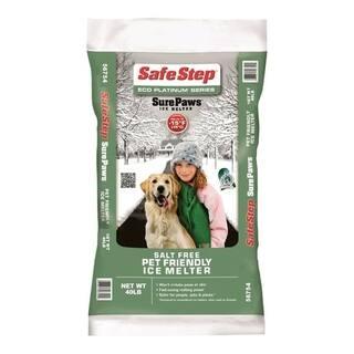 Safe Step Sure Paw Magnesium Chloride Ice Melt -15 deg. F 40 lb. Polybag