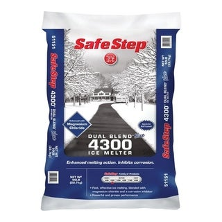 Safe Step Sodium Chloride Ice Melt -7 deg. F 50 lb. Bagged