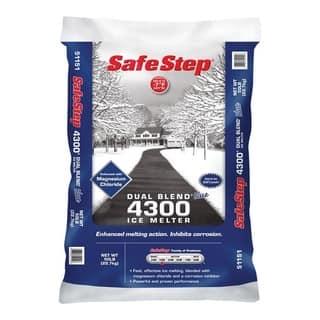 Safe Step Sodium Chloride Ice Melt -7 deg. F 50 lb. Bagged