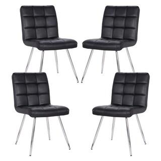 Petras Vegan Leather Chair (Set of 4)