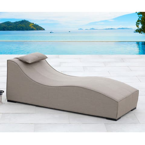 Breeze Taupe Lounger