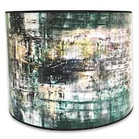 Royal Designs Modern Trendy Decorative Handmade Lamp Shade - - Abstract Painterly Design -10 x 10 x 8
