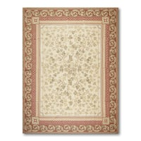 Traditional Asmara Needlepoint Aubusson Hand Woven Rug - multi