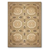Ornate Asmara Classic French Country Needlepoint Aubusson Rug - multi