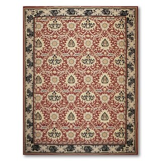 Asmara French Country Needlepoint Aubusson Flat Weave Area Rug (9'x12')